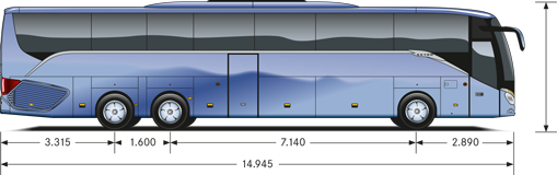SETRA ComfortClass S 519 HD